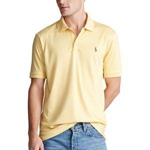PRL Classic Fit Pima Soft Polo Shirt XL Yellow